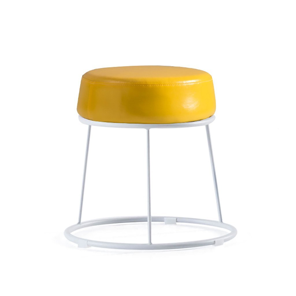 A 31.536.5cm NANIH home Soft stools padded stool home stool vanity stool small stool lazy bench (color   B, Size   31.5  46.5cm)