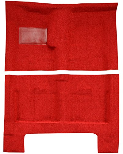 Factory Fit - ACC 1966-1967 Dodge Charger Carpet Replacement - Loop - Passenger Area | Fits: 4spd, without Console Strips