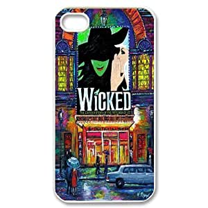 [AinsleyRomo Phone Case] For Iphone 4 4S case cover -Wicked the Musical-Style 15