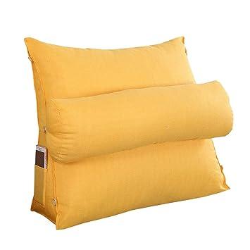 Amazon.com: Cojín de almohada, cama de oficina almohada sofá ...