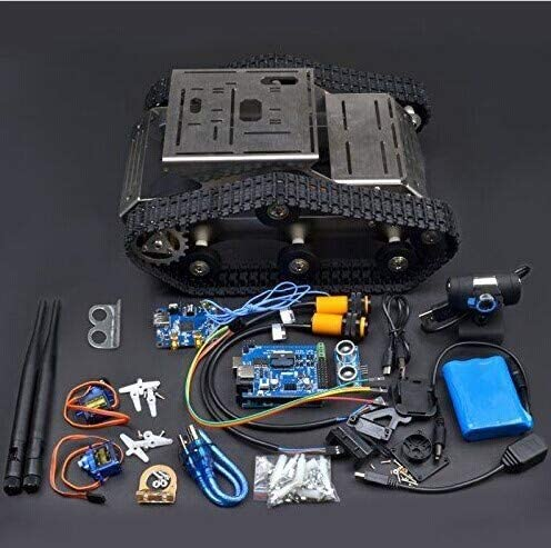 BBOXIM 1PCS Wireless WiFi Robot Car Kit Hd Camera Ds Robot Smart Kids Educational WiFi Robot Car Kit for