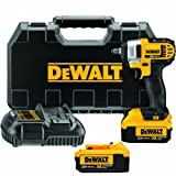 DEWALT DCF883M2 20-volt Max Lithium Ion 3/8-Inch Impact Wrench Kit with Hog Ring