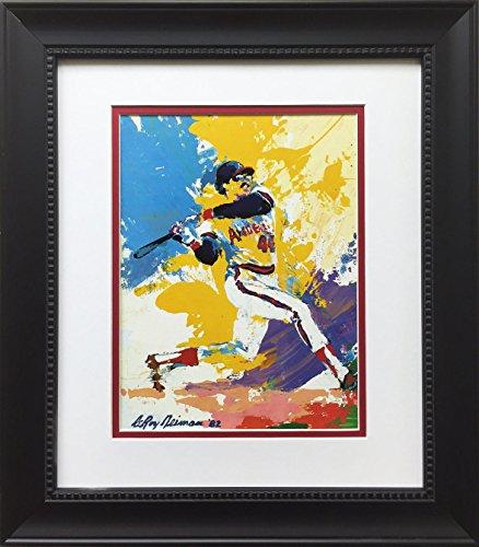LeRoy Neiman Reggie Jackson Newly Custom Framed Art Print