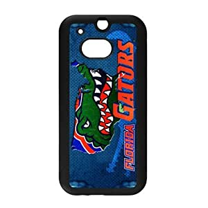 Generic Customize Unique Otterbox--NCAA Florida Gators Team Logo PC and TPU Case Cover for HTC One M8