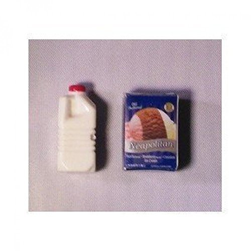 [Superior Dollhouse miniature] Superior Dollhouse Miniatures Dollhouse Ice Cream & Milk Container IM65172 [parallel import goods] by Superior Dollhouse Miniatures