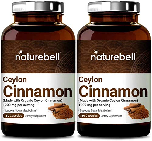 2-Pack-Ceylon-Cinnamon-1200mg-Per-Serving-180-Capsules-Made-with-Organic-Ceylon-Cinnamon-for-Sugar-Metabolism-Heart-Function-and-Joint-Health-Non-GMO