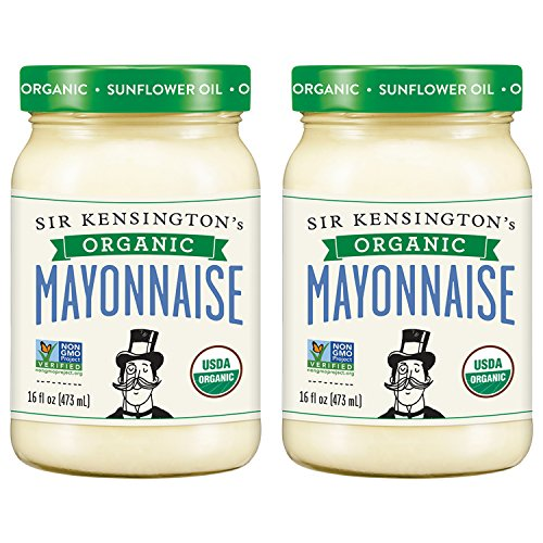 Sir Kensington's Mayonnaise, Organic, 16 Fl Oz (Pack of 2) (Best Foods Organic Mayonnaise Ingredients)