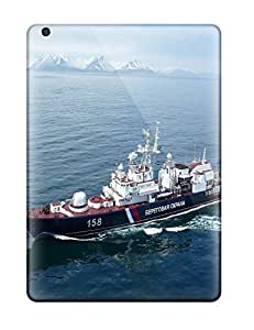 For Ipad Case, High Quality Russia Navy Warship Ship War Star Nerey For Ipad Air Cover Cases