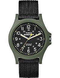 Timex TW4999800GP Acadia Camper Black Dial and Nylon Black Strap Watch