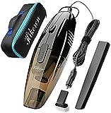 Hikeren Car Vacuum Cleaner,DC 12-Volt Wet&Dry Handheld...
