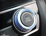 iJDMTOY 2pcs Blue Anodized Aluminum AC Climate