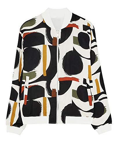 Zara Men Geometric Print Jacket 7505/413 (Small) White, used for sale  Delivered anywhere in USA