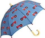 Hatley Little Boys' Farmer Jack Umbrella, Blue, One Size