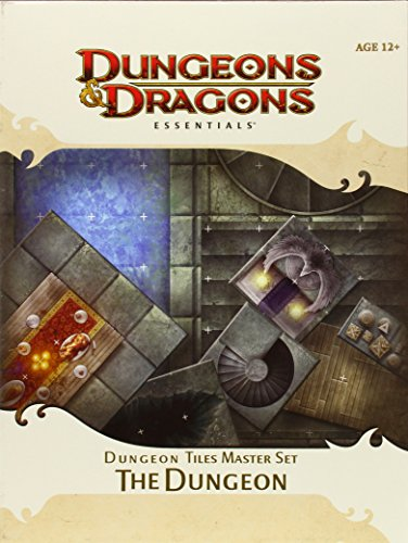 Dungeon Tiles Master Set - The Dungeon: An Essential Dungeons & Dragons Accessory (Dungeons And Dragons Maps)