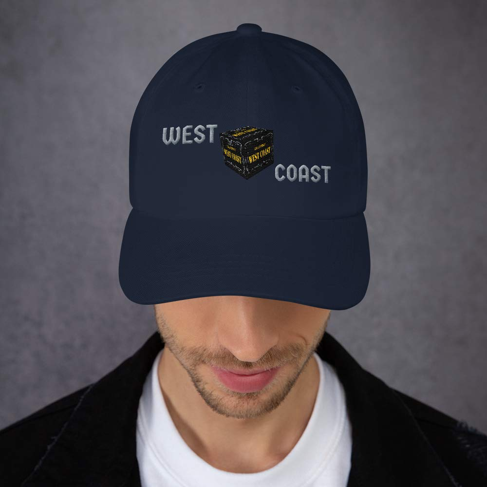 California WEST Coast Cube Dad hat