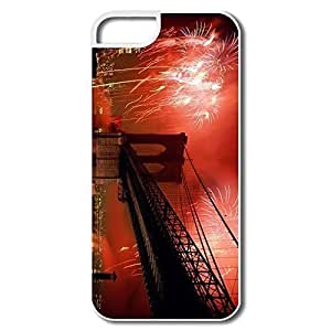 For SamSung Note 2 Phone Case Cover Celebration Brooklyn Bridge For SamSung Note 2 Phone Case Cover - White Hard Plastic