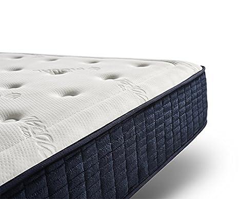 Dessok Comodidad de Memoria colchón visco Lujo, Super King (180x200 cm): Amazon.es: Hogar