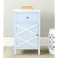 Safavieh American Homes Collection Alan Light Blue End Table