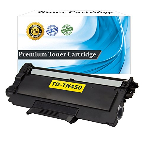 Top Dog Compatible Replacement for Brother TN450 Toner Cartridge, Brother TN420 High Yield Toner Cartridge Black (2,600 Page Yield) for use with Brother HL-2220 Brother HL-2230 Brother HL-2240 Brother HL-2240D Brother HL-2270DW Brother HL-2275DW Brother H