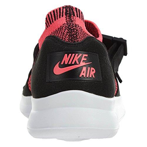 Nike Donna Air Sockracer Flyknit Scarpa Da Corsa Nero / Bianco / Rosa Da Corsa