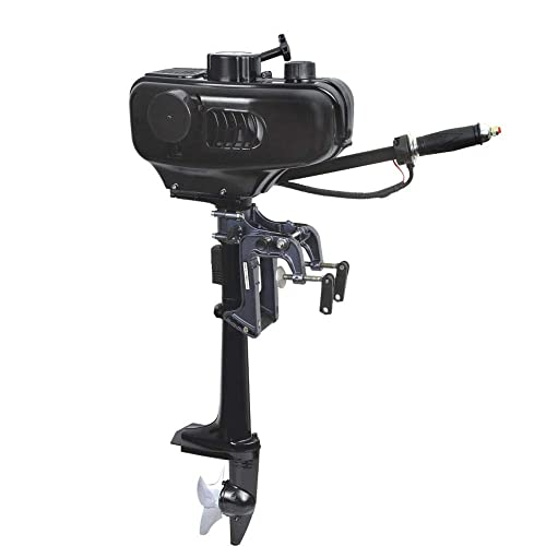 3.5hp Outboard Motor (Boat Engine) with Short Shaft for Fishing, Inflatable or Rubber Boat [Bstool] detail review