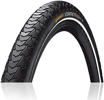 Continental Contact Plus Bike Tire - Replacement City/Trekking