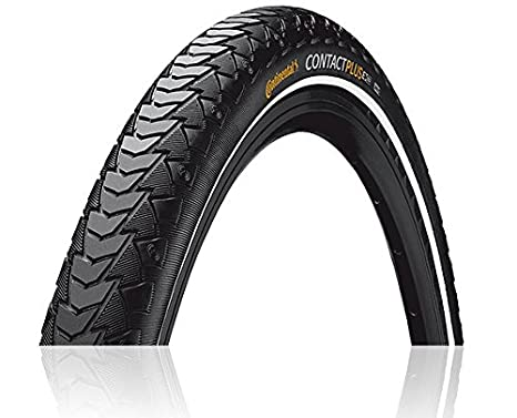 Continental Bicycle Tires >> Continental Contact Plus Bike Tire Replacement City Trekking Extra E Bike Rated Puncture Protection Bike Tire 24 26 27 28