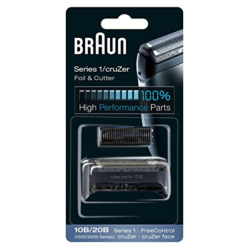 Braun 10B Replacement Foil and Cutter Cassette Multi Black BLS Combi Pack