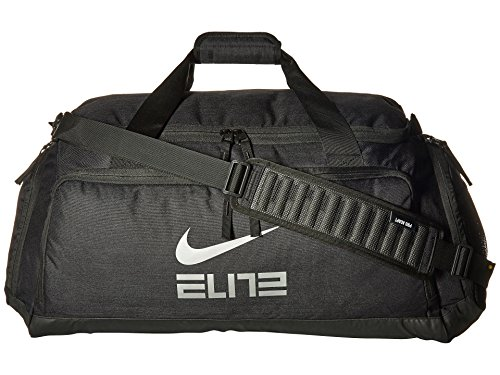 Nike Hoops Elite Basketball Duffel Bag Black/Black/Metallic Cool Grey BA5553-010