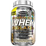 Best Protein Powder For Muscles - MuscleTech pro series whey isolate protein powder, vanilla Review