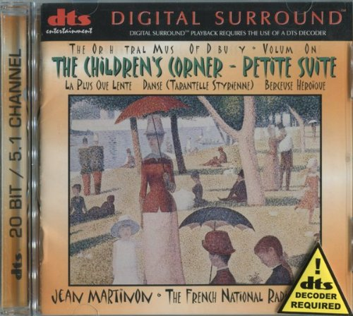 The Orchestral Music of Debussy Vol. 1: Children's Corner - Petite Suite by Digital Sound