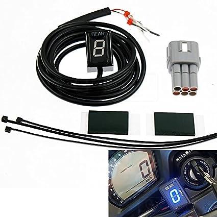 Amazon com: GFYSHIP Motorcycle LCD Electronics 1-6 Level Gear