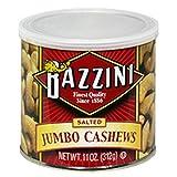 House Of Bazzini, Cashews, Jumbo, Salted, Pack of 12, Size - 11 OZ, Quantity - 1 Case