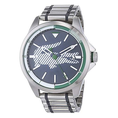 Lacoste Capbreton Grey Dial Stainless Steel Men's Watch 2010943