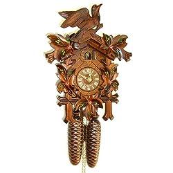 8-Day Traditional Cuckoo Clock w Door