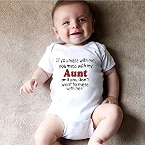 0-2Years,SO-buts Newborn Infant Baby Girls Boys Bodysuit Letter Romper Tops Summer Clothes Fashion Set