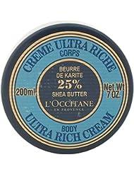 L'Occitane Moisturizing 25% Shea Butter Ultra-Rich Body Cream, 6.9 oz
