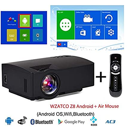 Amazon.com: LCD Projectors - Mini LED Projector 1800Lumens ...