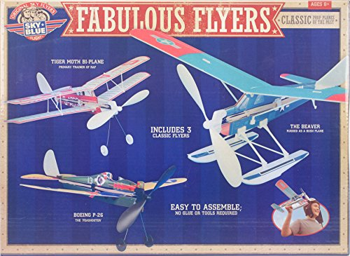 Be Amazing! Toys Sky Blue Flight Fabulous Flyers Model, used for sale  Delivered anywhere in USA