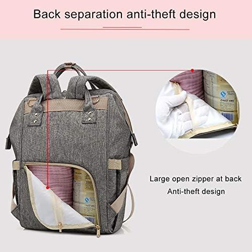 MyEstore Sac Fashion Grand Multi-Fonctionnel Sac à Main Sac à bandoulière Double Oxford imperméable Tissu Sac à Dos, Capacité: 16L