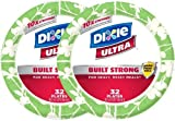 Dixie Ultra Plates, Stem Blossom – 8.5 in – 32 ct – 2 pk by Dixie