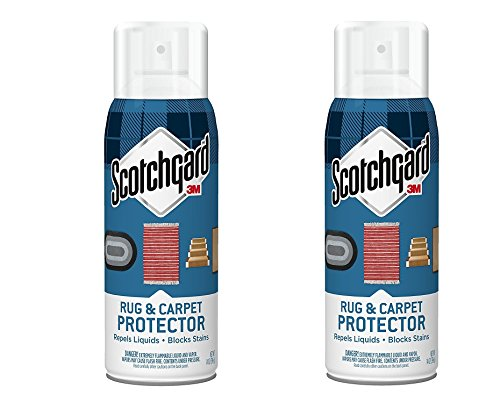3M Scotchgard Rug & zoExFH, Carpet Protector, 2Pack (14 oz)