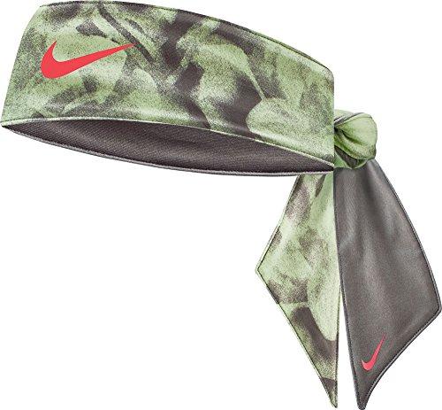 (Nike Women's Printed Dri-FIT 2.0 Head Tie (Volt) )