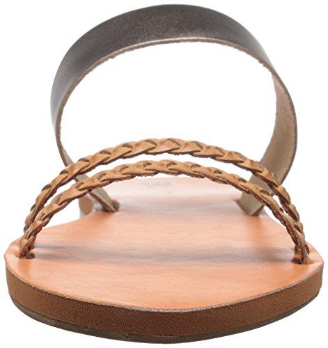 BC Footwear Women's Wee Slide Sandal Pewter/Tan FThj2uNPFj