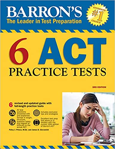 Barrons 6 act practice tests 3rd edition patsy j prince med barrons 6 act practice tests 3rd edition 3rd edition fandeluxe Images