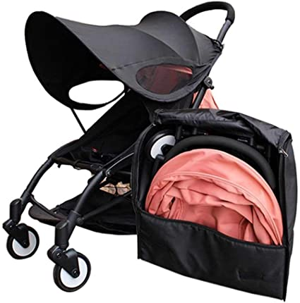 SODIAL Travel Bag Carry Case Baby Stroller Backpack Oxford Cloth Waterproof Organizer for Yoyo Yoya Babytime Stroller Accessories