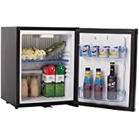 SMETA DC/AC 1.0 cu ft Portable Absorption Lockable Refrigerator Mini Beverage Cooler