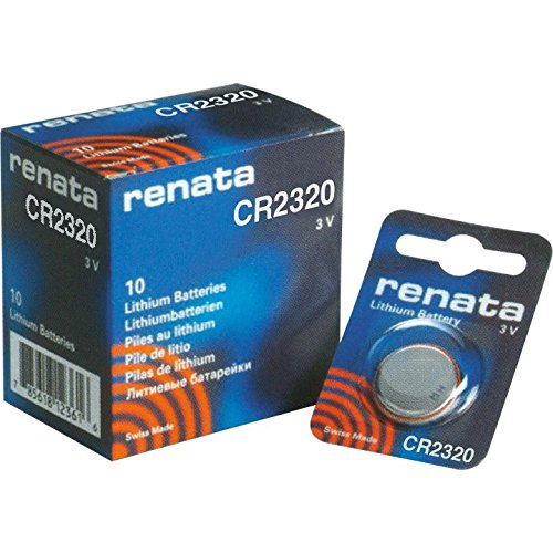 (10pk Renata Coin Cell Battery CR2320 Lithium Replaces DL2320, BR2320 )