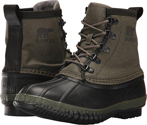 SOREL - Men's Cheyanne Ii Short CVS Shell Boot, Size: 10 D(M) US, Color: Nori/Quarry by SOREL