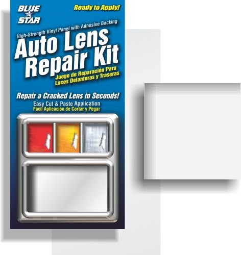 Blue Star Auto Reverse Light / Tail Light / Head Light Lens Repair Piece, Clear (SMOOTH) 4333257204